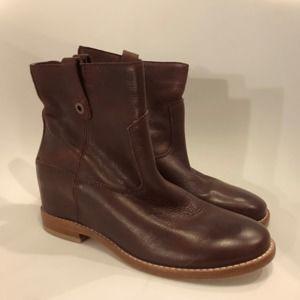Cole Haan Women 8B Zillie Boots Zinfandel Leather